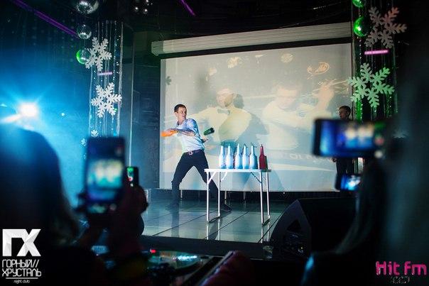 Визуализация изображений от компании Аудио Визуальные системы в клубе